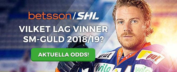 Betsson ny huvud sponsor till Svenska ishockey liganSHL