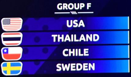 Spelschema Fotbolls VM 2019